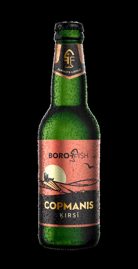 "BOROFFISH ""COPMANIS ĶIRSĪ"", ķiršu alus 0,33l, 5,9%"