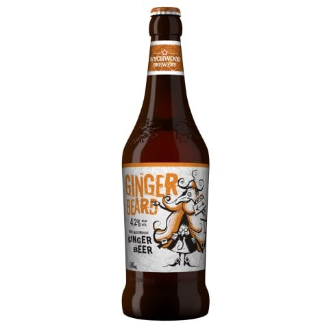 Ingvera alus Wychwood GINGER BEARD 4,2% 0,5l stikla pudelē, gab