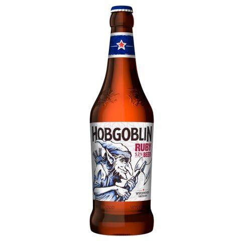 Alus Wychwood HOBGOBLIN RUBY 5,2% 0,5l stikla pudelē, gab