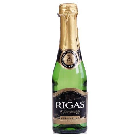 Dzirkstošais vīns Rīgas Šampanietis Oriģinālais saldais 11,5% 0,2l