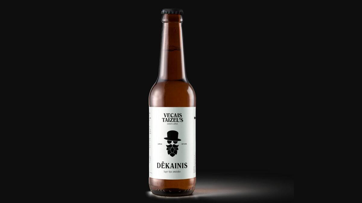Vecais Taizel's DĒKAINIS, 5%,  0,33l stikla pudelē