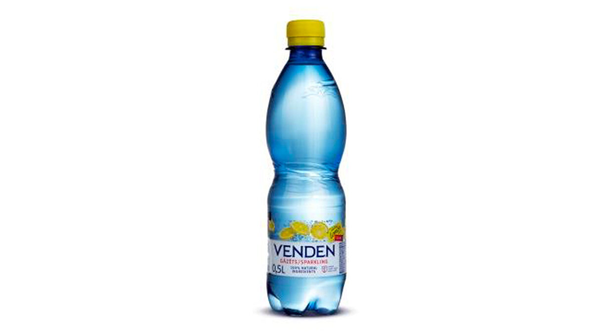 CARBONATED NON-ALCOHOLIC DRINK WITH NATURAL LEMON FLAVOUR 0.5L