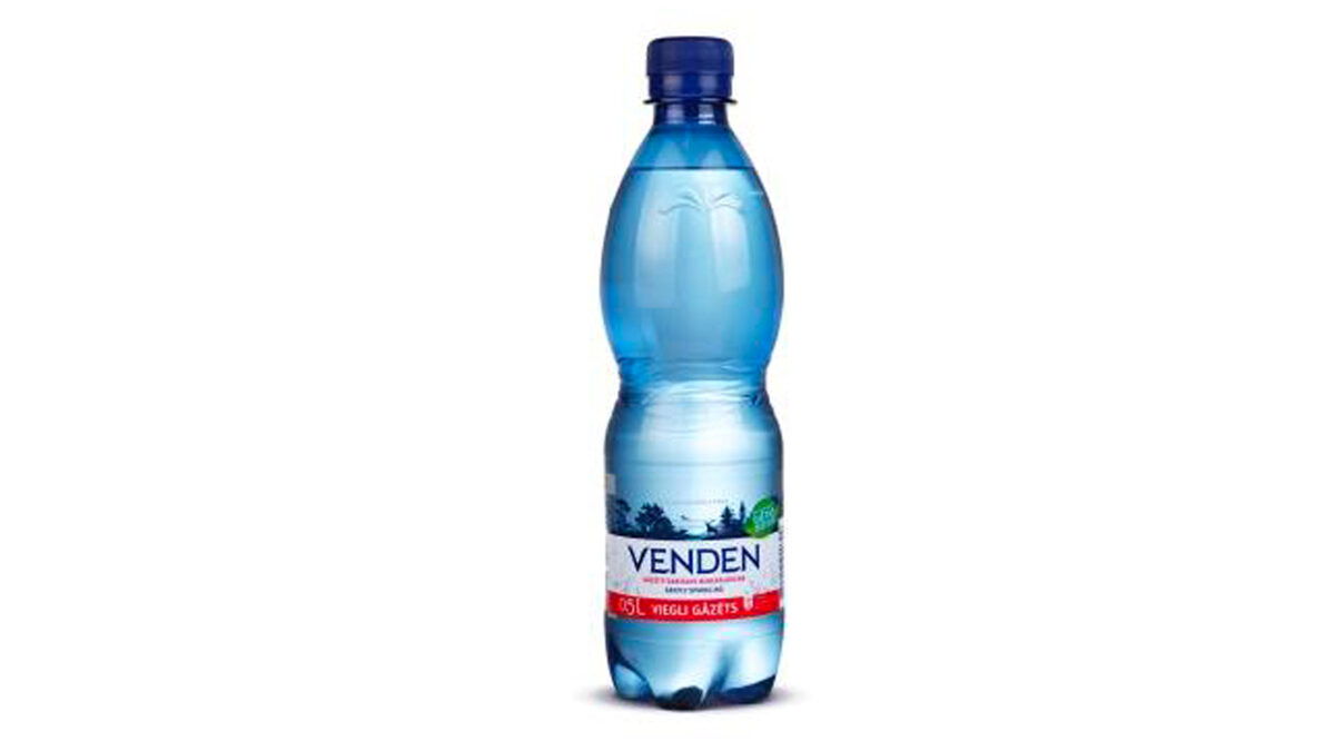 MODERATELY CARBONATED NATURAL MINERAL WATER VENDEN 0.5L