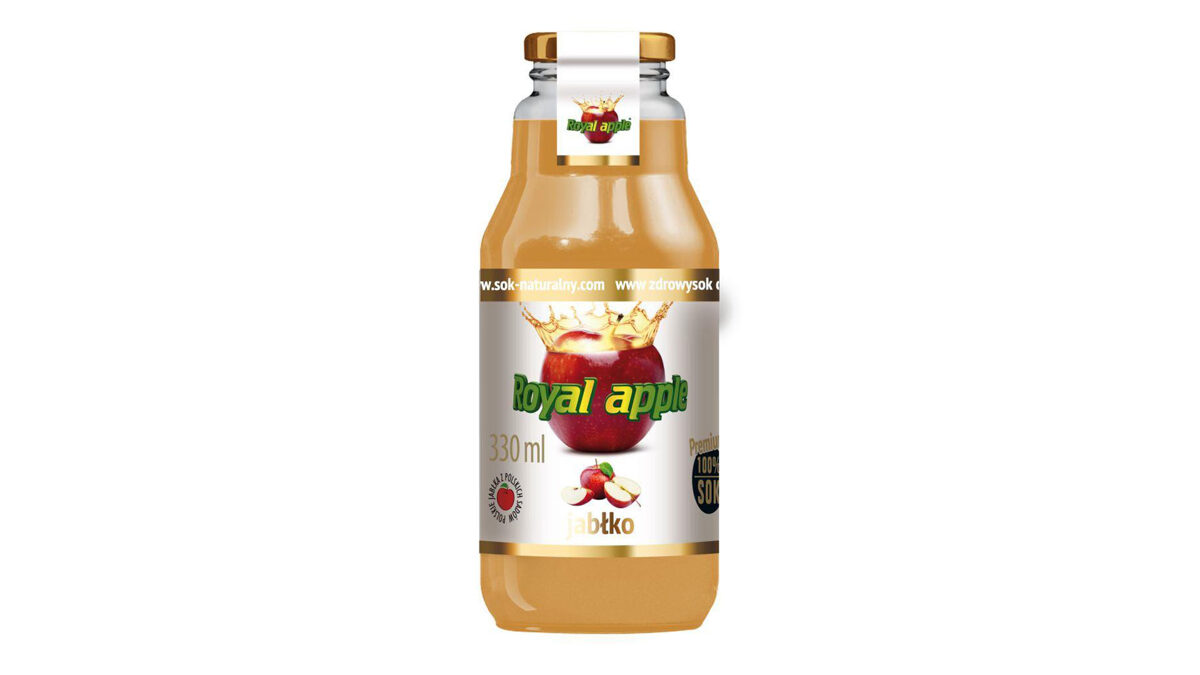 "ROYAL APPLE ""ĀBOLU SULA"" 100% 330ML STIKLS"