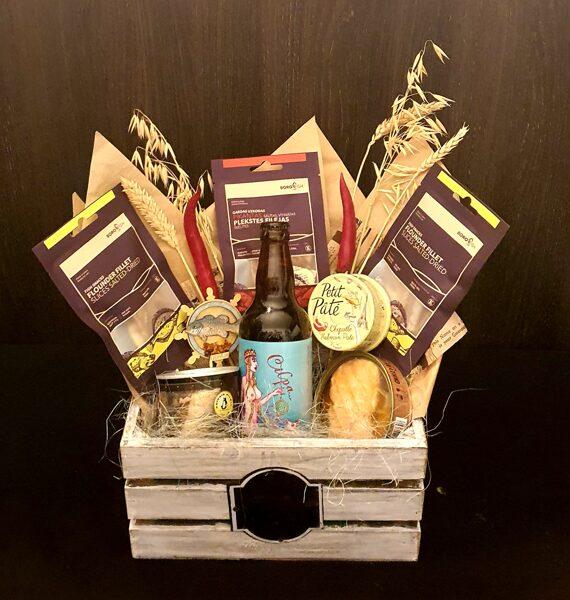Gift set with Malduguns Cilpa beer, 0,5l
