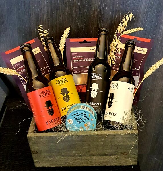 Gift set with Vecais Taizle's beer