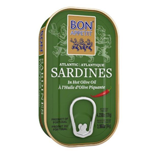 Bon Appetit сардины в пряном оливковом масле 120 г