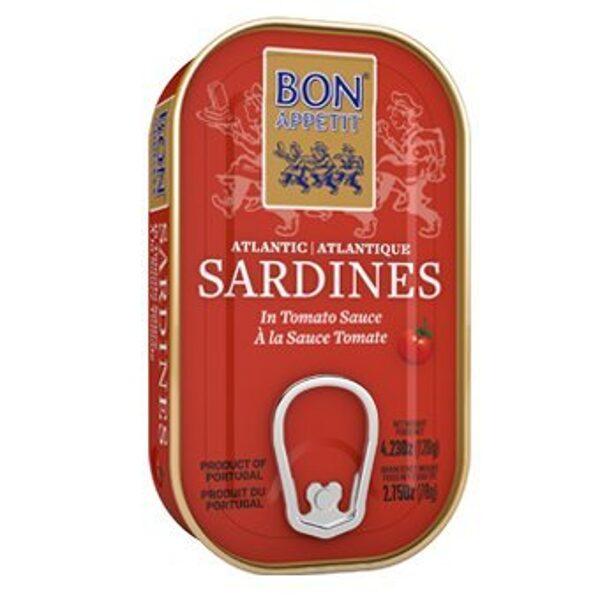 Bon Appetit сардины в томатном соусе 120г