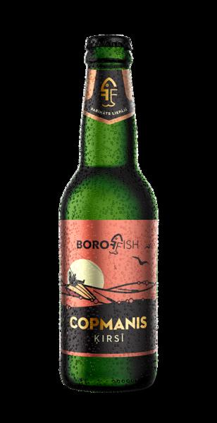 "BOROFFISH ""COPMANIS ĶIRSĪ"", вишневое пиво 0,33l, 5,9%"