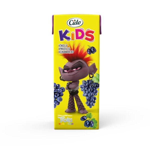 CIDO Kids Trolls Виноградный нектар, 0,2 л