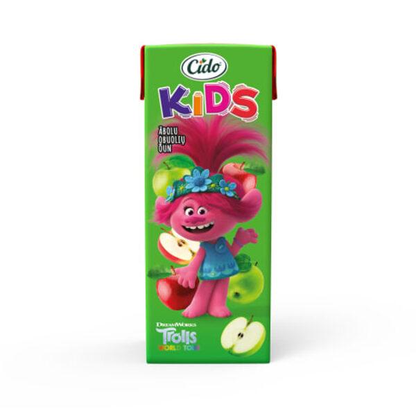 CIDO Kids Trolls Яблочный сок, 0,2 л