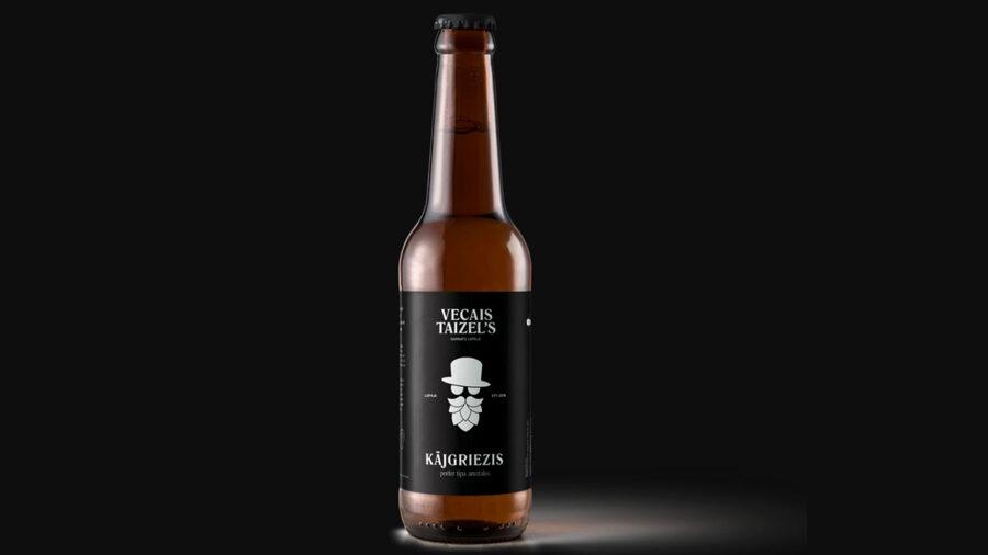 Vecais Taizel's, KĀJGRIEZIS, PORTER, 7,5%, 0,33 л стеклянная бутылка
