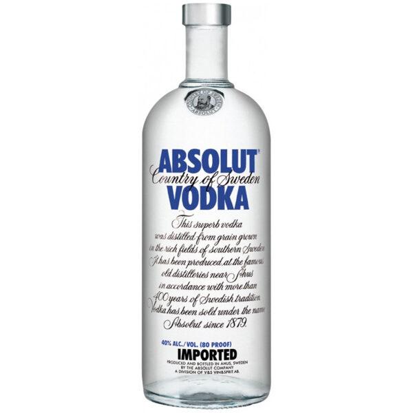 Absolut Vodka, 40% 1L
