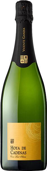 Dzirkstošais vīns HOYA DE CADENAS Cava Blanco Nature, Brut, 11,5%, 0.75l