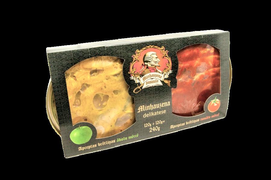 BRĪVAIS VILNIS Munchausen delicacy 240g