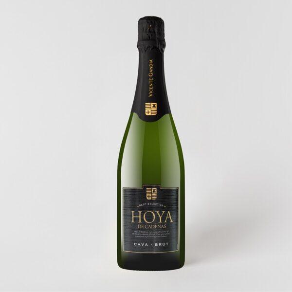 Dzirkstošais vīns Hoya de Cadenas Cava Brut 11,5% 0,75l